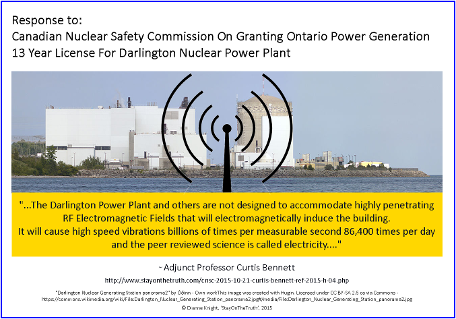 Response to: Canadian Nuclear Safety Commission On Granting Ontario Power Generation 13 Year License For Darlington Nuclear Power Plant