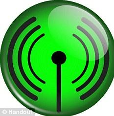 Always on: Green Orb symbol for Wi-Fi
