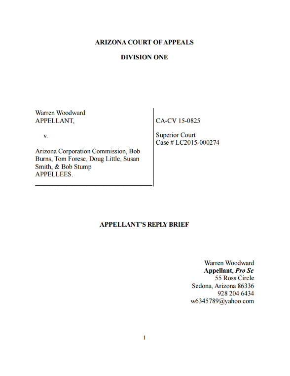 Appellant's Reply Brief
