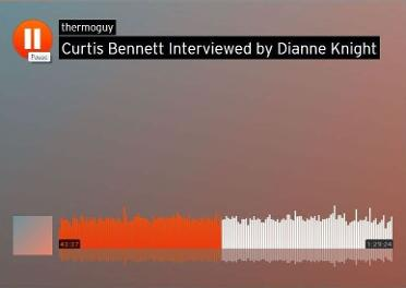 Curtis Bennett Interviewed by Dianne Knight