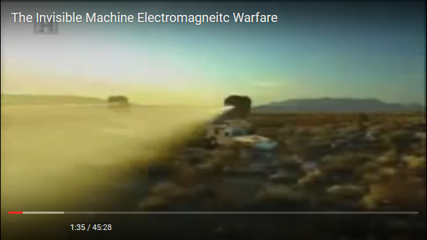 The Invisible Machine - Electromagnetic Warfare