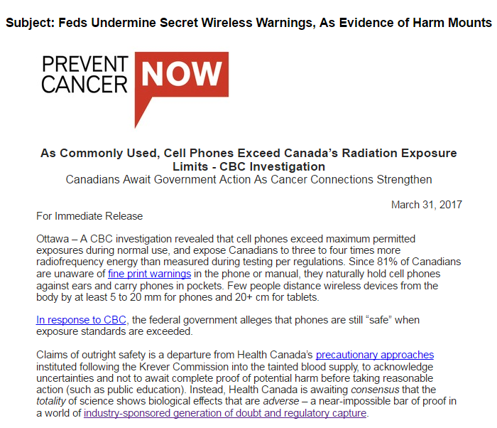 Feds Undermine Secret Wireless Warnings1