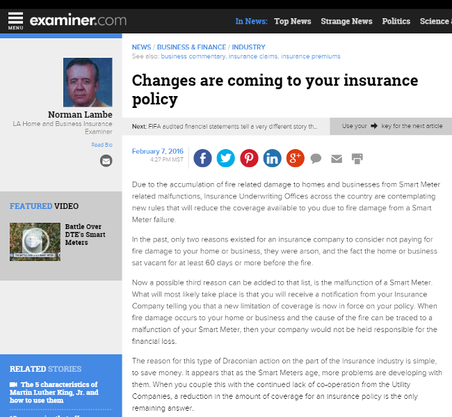 Changes are coming to your insurance policy