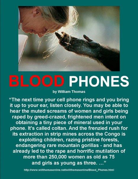 BLOOD PHONES, By William Thomas